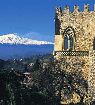 SPECTACLE: Mount Etna is only one of the many attractions that Sicily has to offer