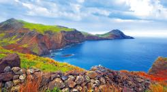Madeira's rugged coastline