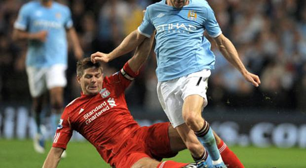 James Milner created the opening goal for Gareth Barry. Photo: Getty Images