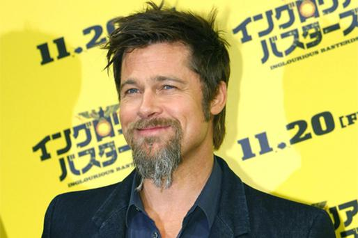 Blood for oil?: Brad Pitt wants to see heads roll – literally. Photo: AP