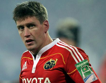 Ronan O'Gara will be available to play in Magners League (week) One. Photo: Getty Images