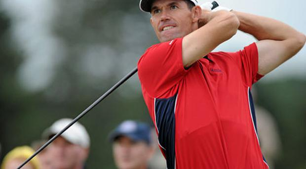 Padraig Harrington's decision to play at The Barclays instead of Gleneagles this weekend has left his Ryder Cup fate in Colin Montgomerie's hands.