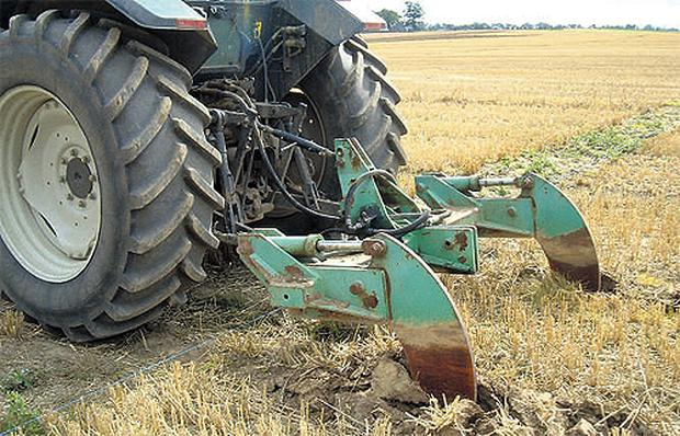 Deep loosening with a conventional ripper/sub soil can also help to remove compaction
