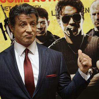 Sylvester Stallone's film is No 1 in America