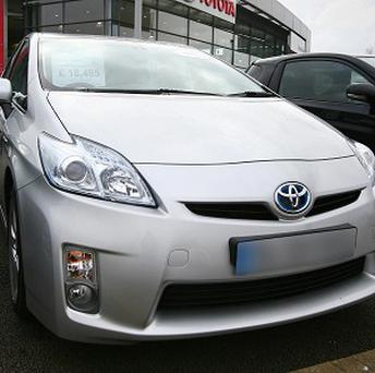 Toyota has created speaker system for the quiet-running Prius to warn pedestrians of its presence
