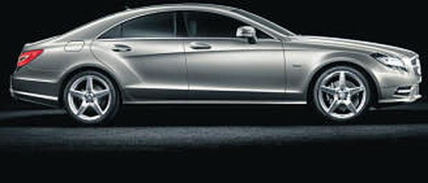 The new Mercedes CLS 350.