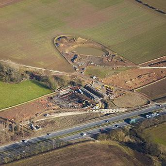 The site where archaeologists uncovered a Roman 'industrial estate'