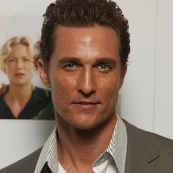 Matthew McConaughey might star in The Headhunter's Calling