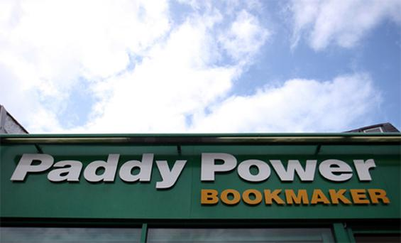 Strong results: bookmaker Paddy Power. Photo: Bloomberg News