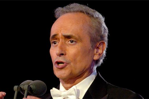 Spanish performer Jose Carreras