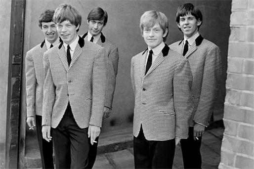 The Rolling Stones in the early 1960s