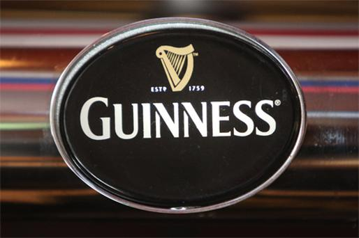 Guinness was down 5pc in line with the rest of the market here, but its market share increased by 0.6pc to nearly 33pc while Baileys liqueur also saw it sales fall. Photo: Bloomberg News