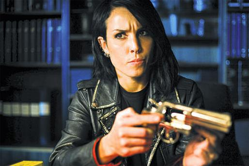 TOP GUN: Noomi Rapace is superb as Lisbeth Salander in 'The Girl Who Played with Fire'