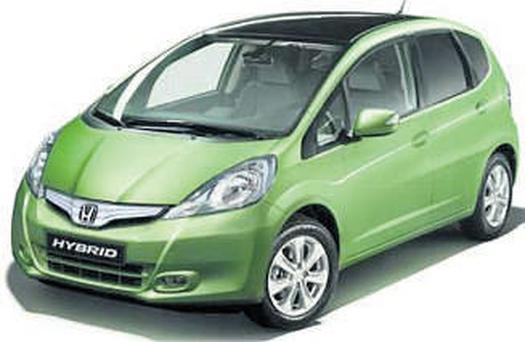 SOUNDS GREAT: Honda's Jazz hybrid, due for release in 2011