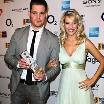 Michael Buble joked that he wouldn't leave his wife Luisana Lopilato alone with Harry Styles