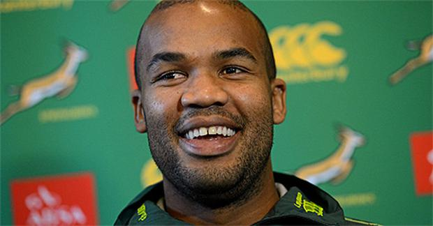 South Africa winger JP Pietersen