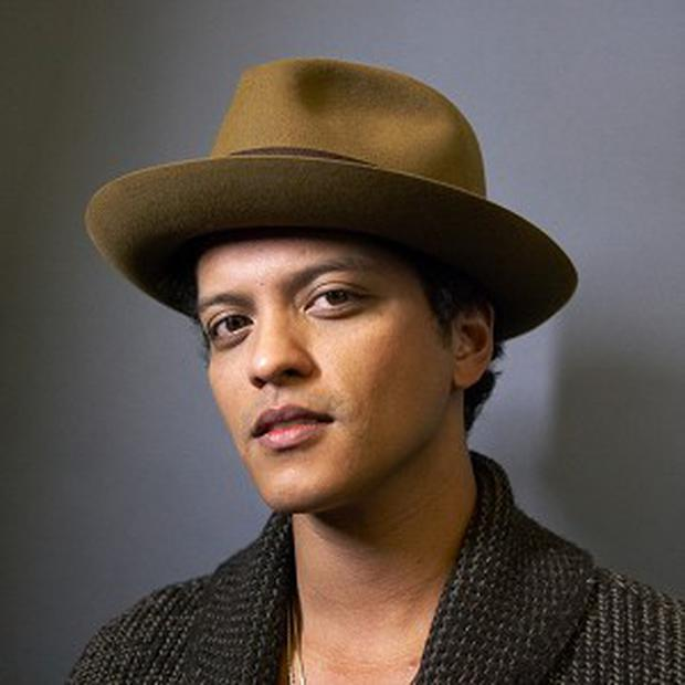 Bruno Mars well-liked by industry professionals and young fans