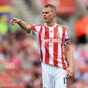 Tony Pulis wants Ryan Shawcross, pictured, to remain at the club for the rest o fhis career