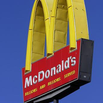 McDonald's has seen a key sales figure drop for the first time in nearly a decade (AP)