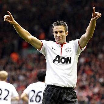 Robin van Persie has netted 11 goals in 14 matches for Manchester United