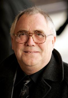 LONDON - FEBRUARY 18: Actor Bill Tarmey arrives at the