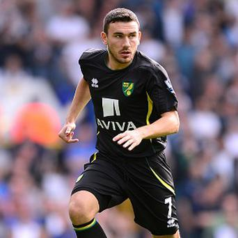 Robert Snodgrass missed the best chance of the game for Norwich City