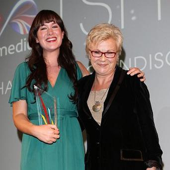 Julie Walters was impressed by Jennifer Sheridan's film at the Virgin Media Shorts