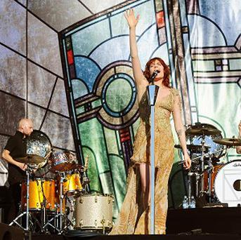 Florence and the Machine drummer Chris Hayden got trapped in a loo before a radio gig