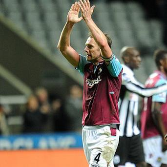 Kevin Nolan grabbed the vital goal as West Ham beat Newcastle