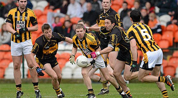 Crossmaglen Rangers defeated St Eunan's in the Ulster Club Championship quarter-final