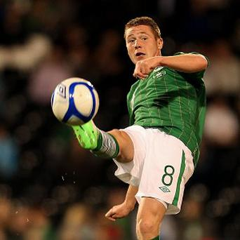 James McCarthy, pictured, feels manager Giovanni Trapattoni is still the 'right man' for the job