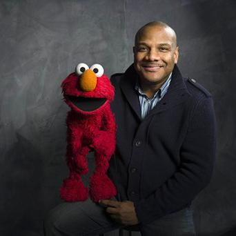 Kevin Clash and his Elmo puppet (AP)