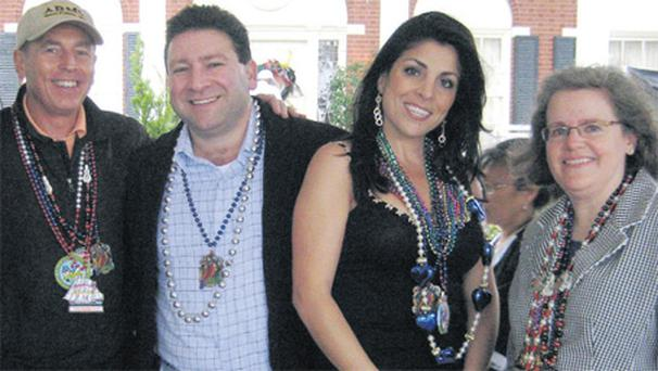 General David Petraeus, Scott and Jill Kelley and Holly Petraeus