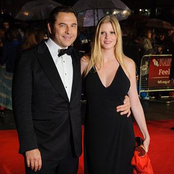 David Walliams and Lara Stone took out a temporary injunction against unknown photographers before their wedding