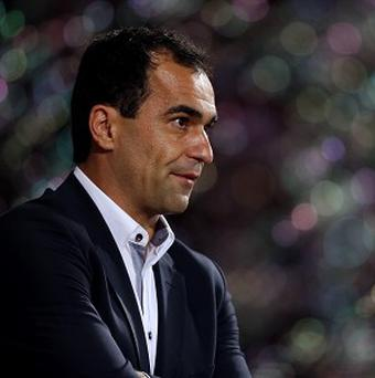 Roberto Martinez, pictured, has been tipped to reach the top of management by Dave Whelan