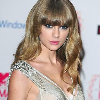 Taylor Swift won three gongs at the MTV Europe Music Awards