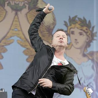 Jim Kerr of Simple Minds is looking forward to performing at the Hogmanay celebrations this year