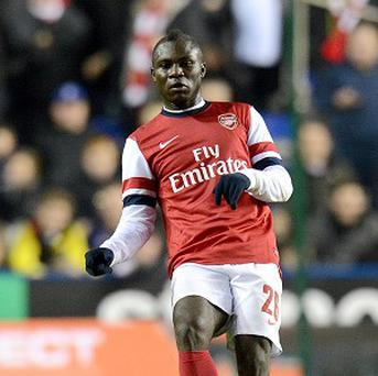 Emmanuel Frimpong is hoping to secure a loan move away from Arsenal