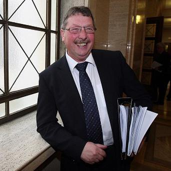 Sammy Wilson called on Sinn Fein ministers to boost transparency