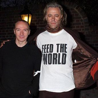 Midge Ure and Sir Bob Geldof's Do They Know It's Christmas? was the biggest selling single of the 80s