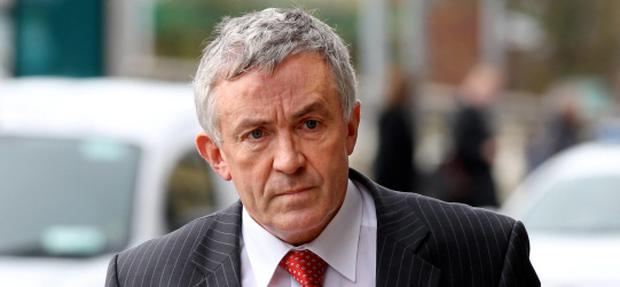 O'FLYNN: (MICHAEL); FOUNDER OF O'FLYNN CONSTRUCTION re ACTION FOR DAMAGES ALLEGING DEFAMATION AGAINST LUCINDA CREIGHTON, MINISTER FOR EUROPEAN AFFAIRS, HIGH COURT, DUBLIN, (14/11/12).*****SEE HI CT STORY.PIC SHOWS: DEVELOPER MICHAEL O'FLYNN, FOUNDER OF O'FLYNN CONSTRUCTION, CORK ARRIVING at COURT YESTERDAY ( WED) FOR DAY TWO OF HIS ACTION FOR DAMAGES ALLEGING DEFAMATION AGAINST LUCINDA CREIGHTON, MINISTER FOR EUROPEAN AFFAIRS.(PIC: COURTPIX)