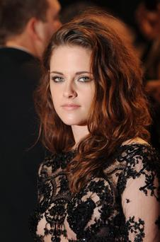 LONDON, UNITED KINGDOM - NOVEMBER 14: Kristin Stewart attends the UK Premiere of 'The Twilight Saga: Breaking Dawn - Part 2' at Odeon Leicester Square on November 14, 2012 in London, England. (Photo by Stuart Wilson/Getty Images)