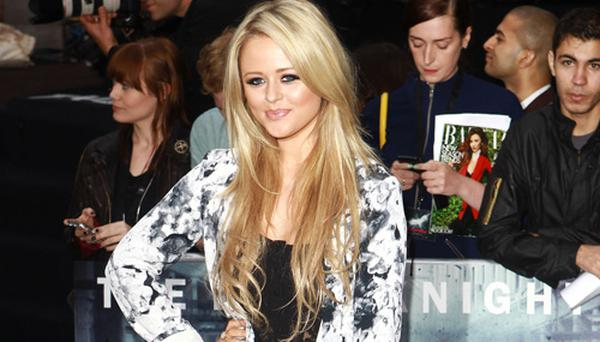 Inbetweeners actress Emily Atack has received death threats on Twitter.