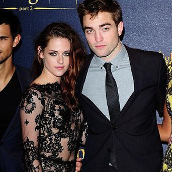 Kristen Stewart and Robert Pattinson at the UK premiere of Breaking Dawn Part 2