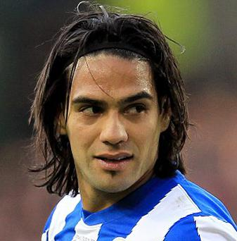 Radamel Falcao has been linked with a move away from Atletico Madrid
