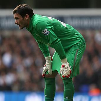 Hugo Lloris has only started one Premier Legaue match for Tottenham