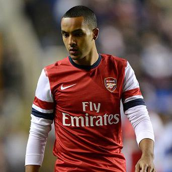 Arsenal forward Theo Walcott is struggling with injury