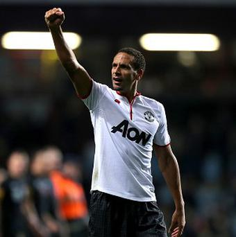 Rio Ferdinand is hoping to win his sixth Premier League title this season