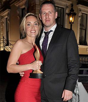 Kathryn Thomas and Enda Waters