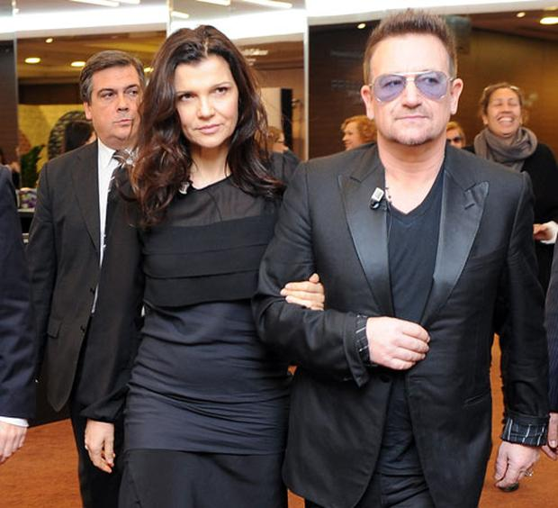 The famous couple attended the 2012 International Herald Tribune's Luxury Business Conference in Rome
